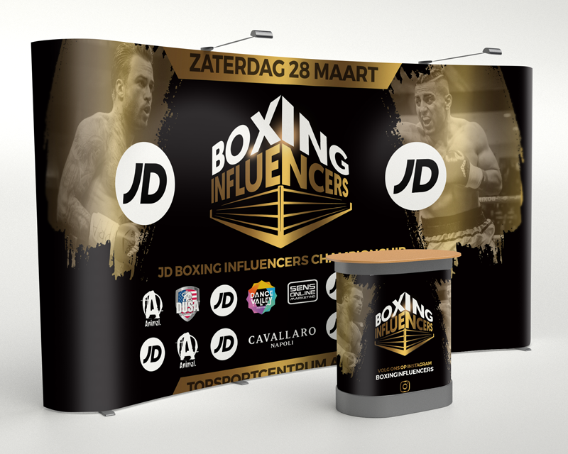 Boxing Influencers stand TeylingenReclame