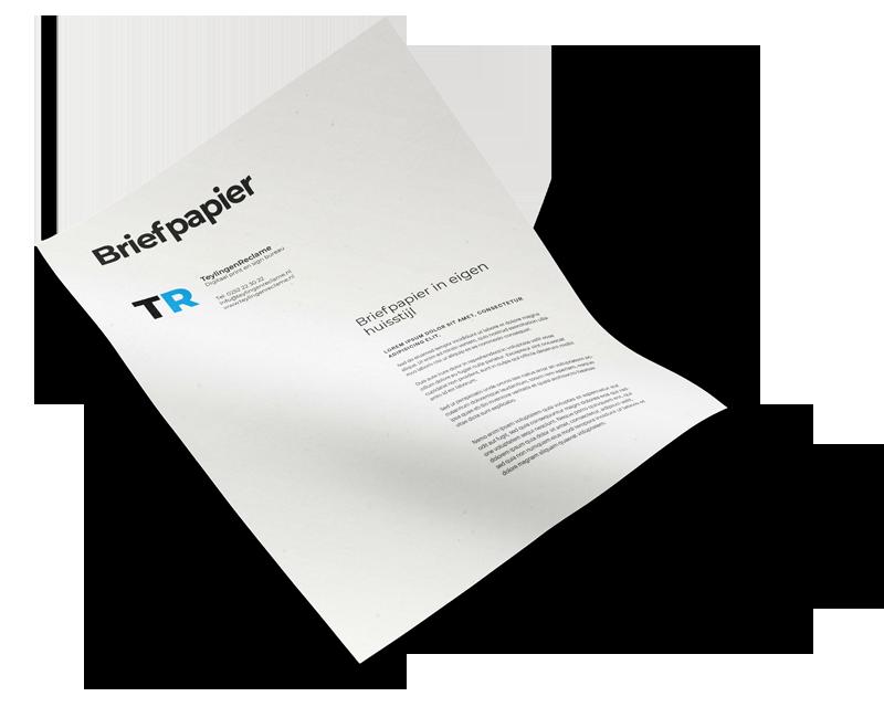 Briefpapier TeylingenReclame