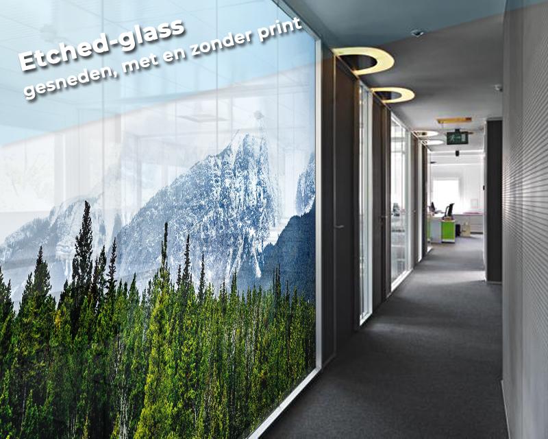 Etched-glass zandstraalfolie TeylingenReclame